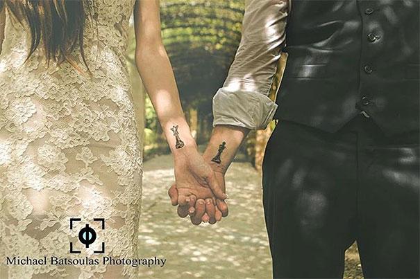 skin-art-matching-wedding-tattoos-1