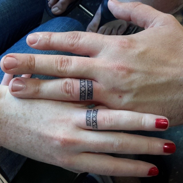 skin-art-matching-wedding-tattoos-23