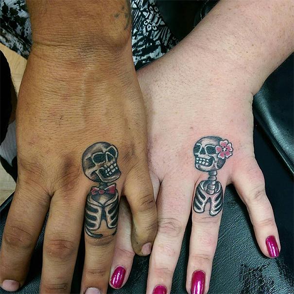 skin-art-matching-wedding-tattoos-5
