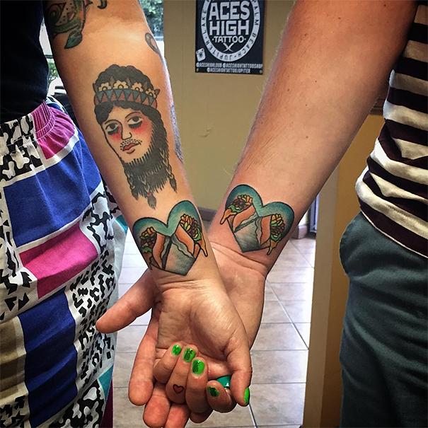 skin-art-matching-wedding-tattoos-8