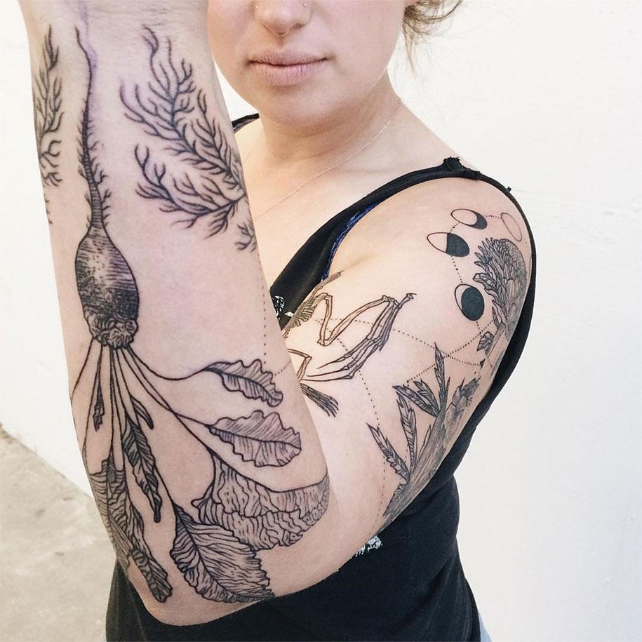 vintage-naturalistic-animal-plant-tattoos-pony-reinhardt-tenderfoot-1