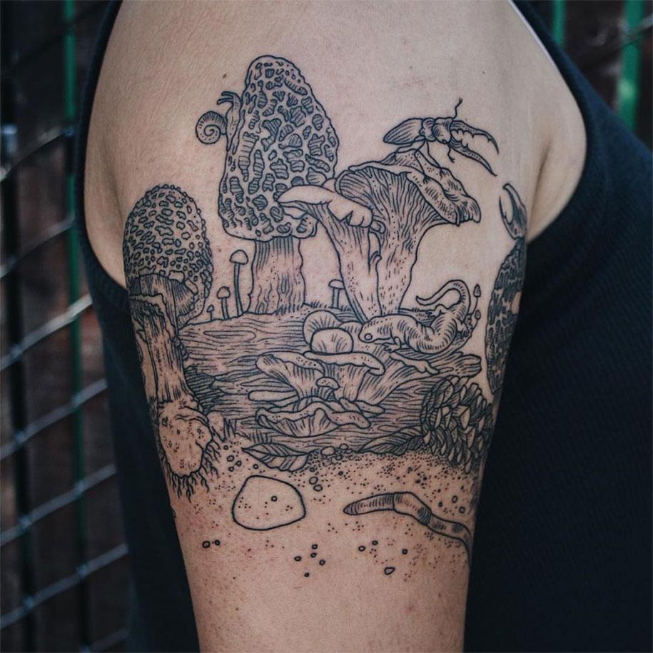vintage-naturalistic-animal-plant-tattoos-pony-reinhardt-tenderfoot-13