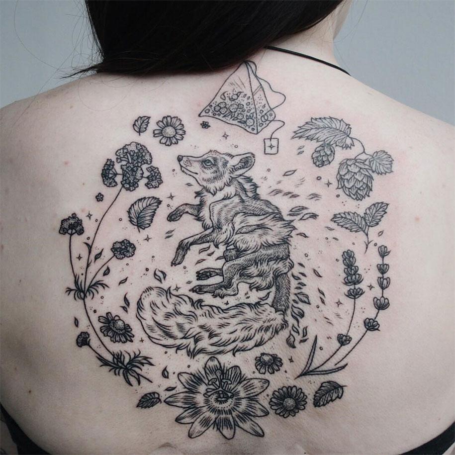 vintage-naturalistic-animal-plant-tattoos-pony-reinhardt-tenderfoot-5
