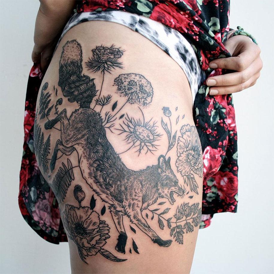 vintage-naturalistic-animal-plant-tattoos-pony-reinhardt-tenderfoot-6