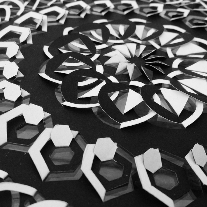 Detail of Geometric Cercle Madala