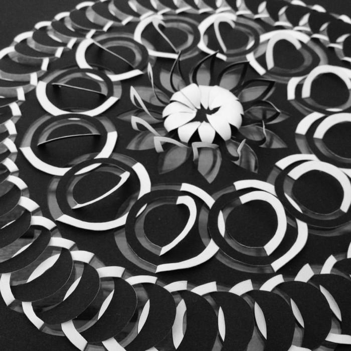 Detail of Circle Flower Mandala