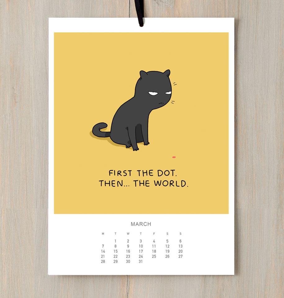 cute-illustrations-2016-cats-wall-calendar-lingvistov-10