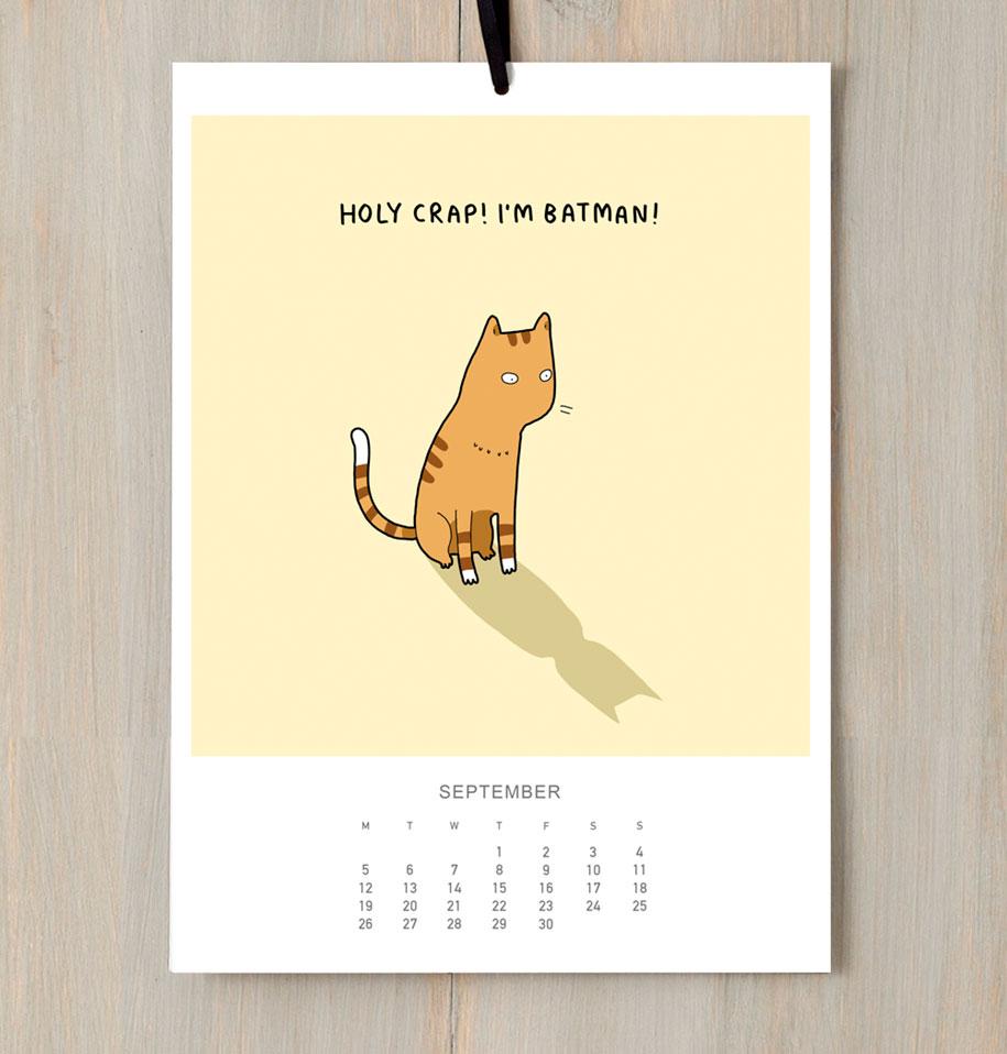 cute-illustrations-2016-cats-wall-calendar-lingvistov-4