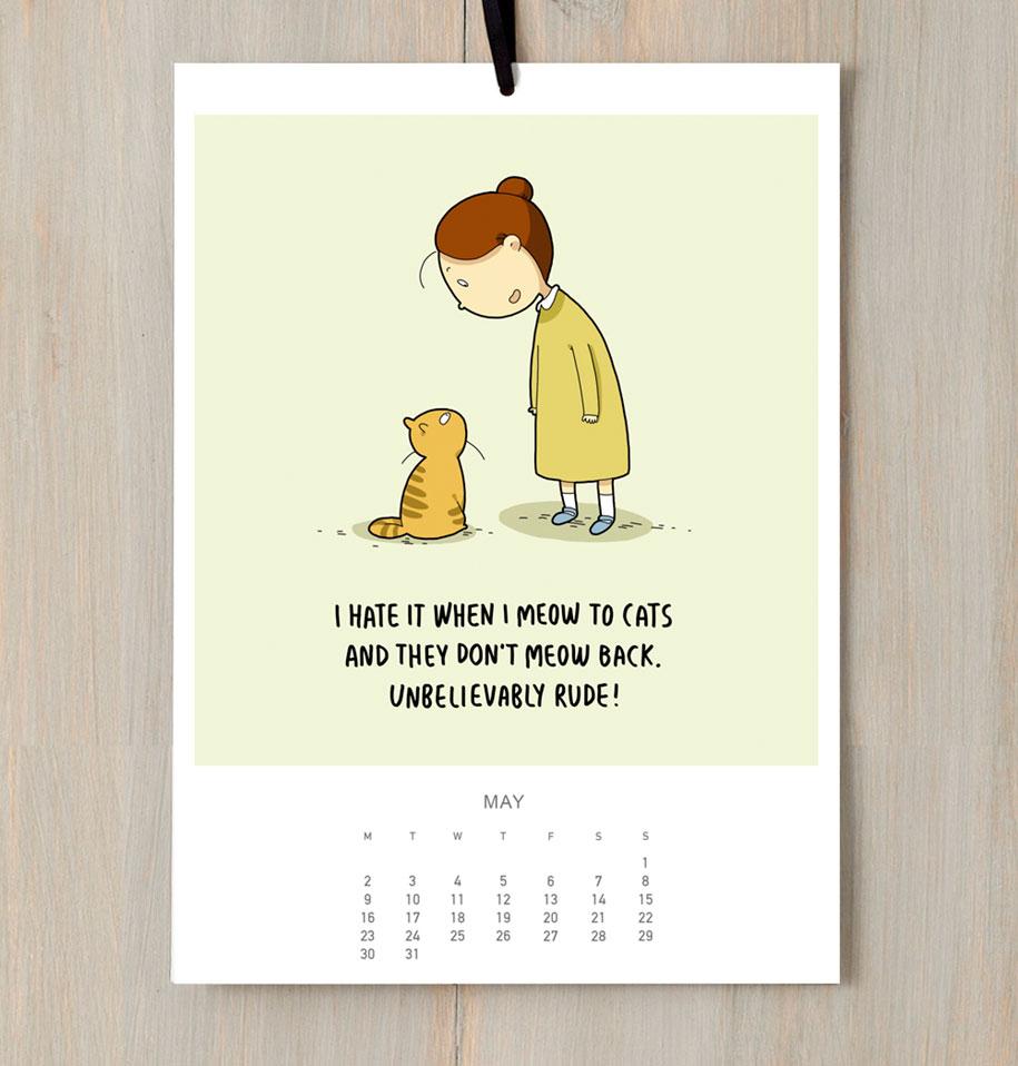 cute-illustrations-2016-cats-wall-calendar-lingvistov-8