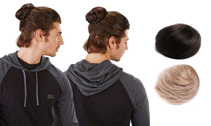 fake-clip-on-man-bun-bonamart-1