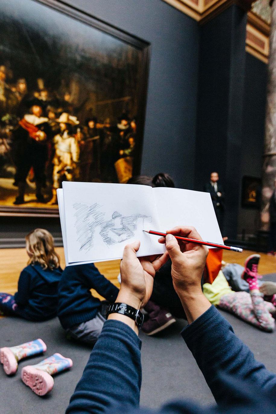 museum-visitor-drawing-sketching-startdrawing-rijksmuseum-amsterdam-7