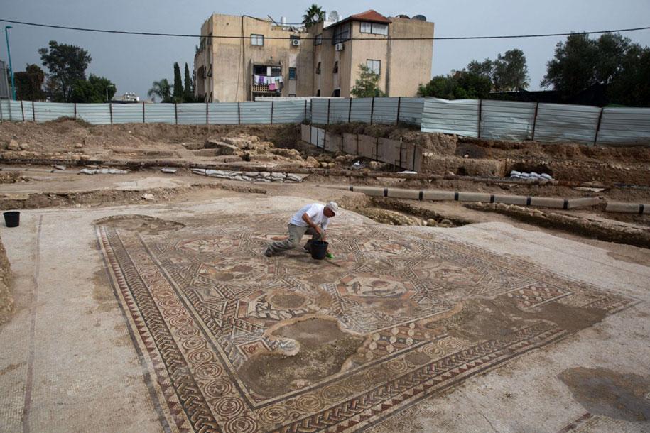 new-roman-moscaic-discovery-lod-israel-3