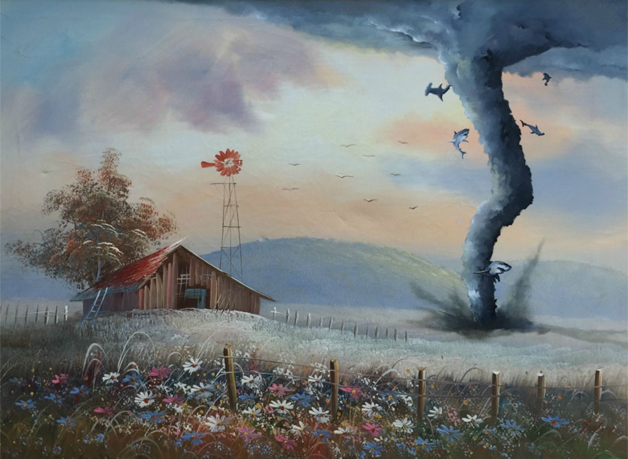 pop-culture-characters-additions-thrift-store-paintings-dave-pollot-10