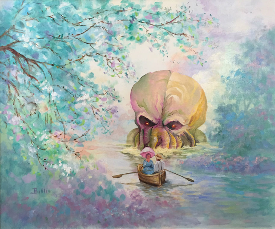 pop-culture-characters-additions-thrift-store-paintings-dave-pollot-13