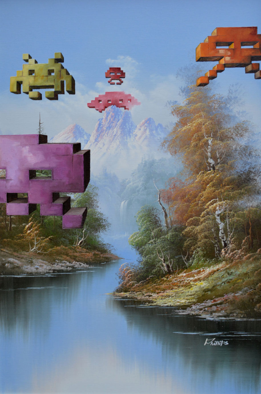 pop-culture-characters-additions-thrift-store-paintings-dave-pollot-16
