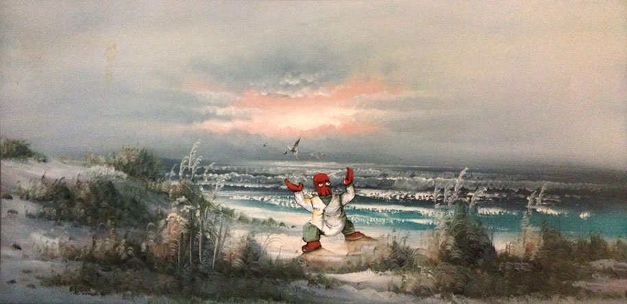 pop-culture-characters-additions-thrift-store-paintings-dave-pollot-24