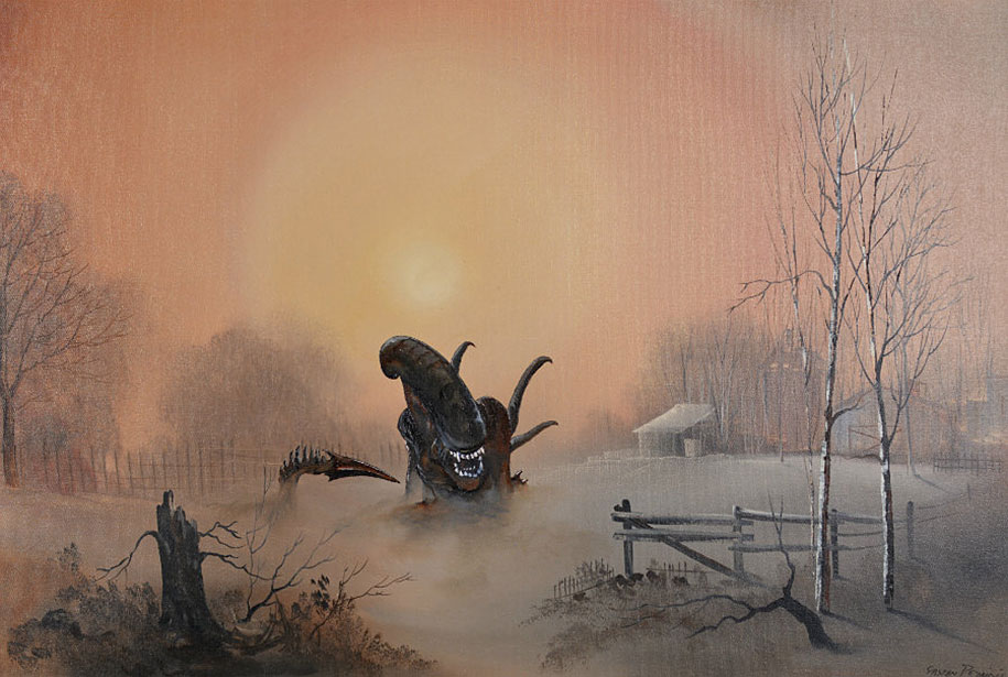 pop-culture-characters-additions-thrift-store-paintings-dave-pollot-3