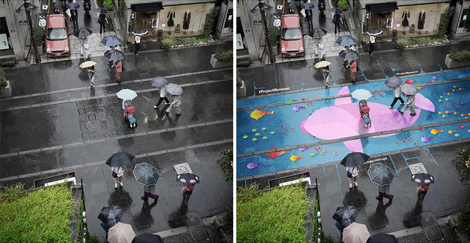 street-paint-shows-wet-project-monsoon-pantone-south-korea-4