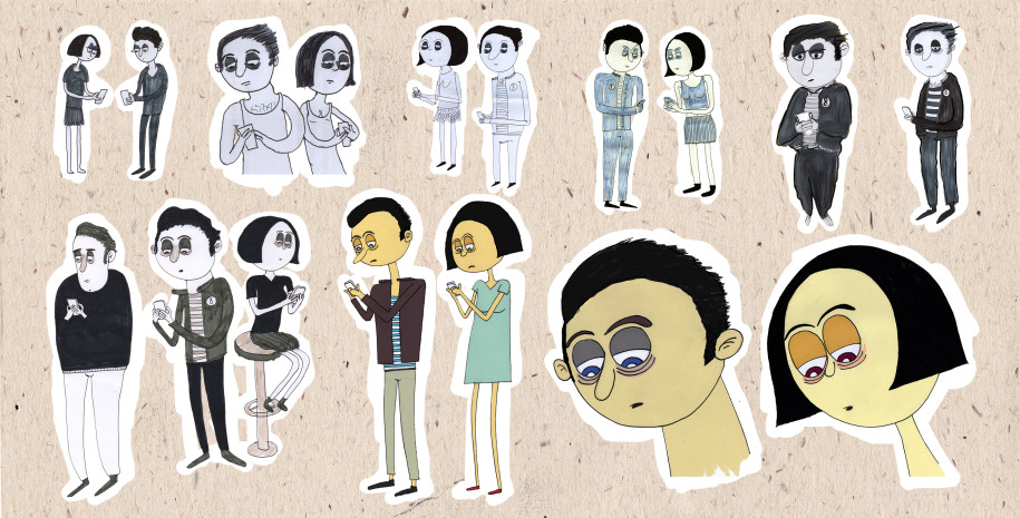 Behind the Scenes: Character variations