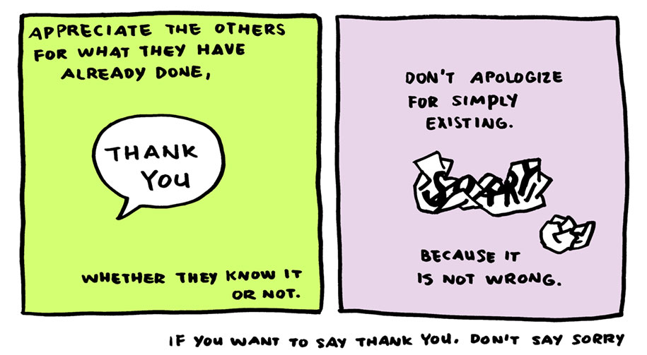 life-advice-comic-stop-saying-sorry-say-thank-you-yao-xiao-8
