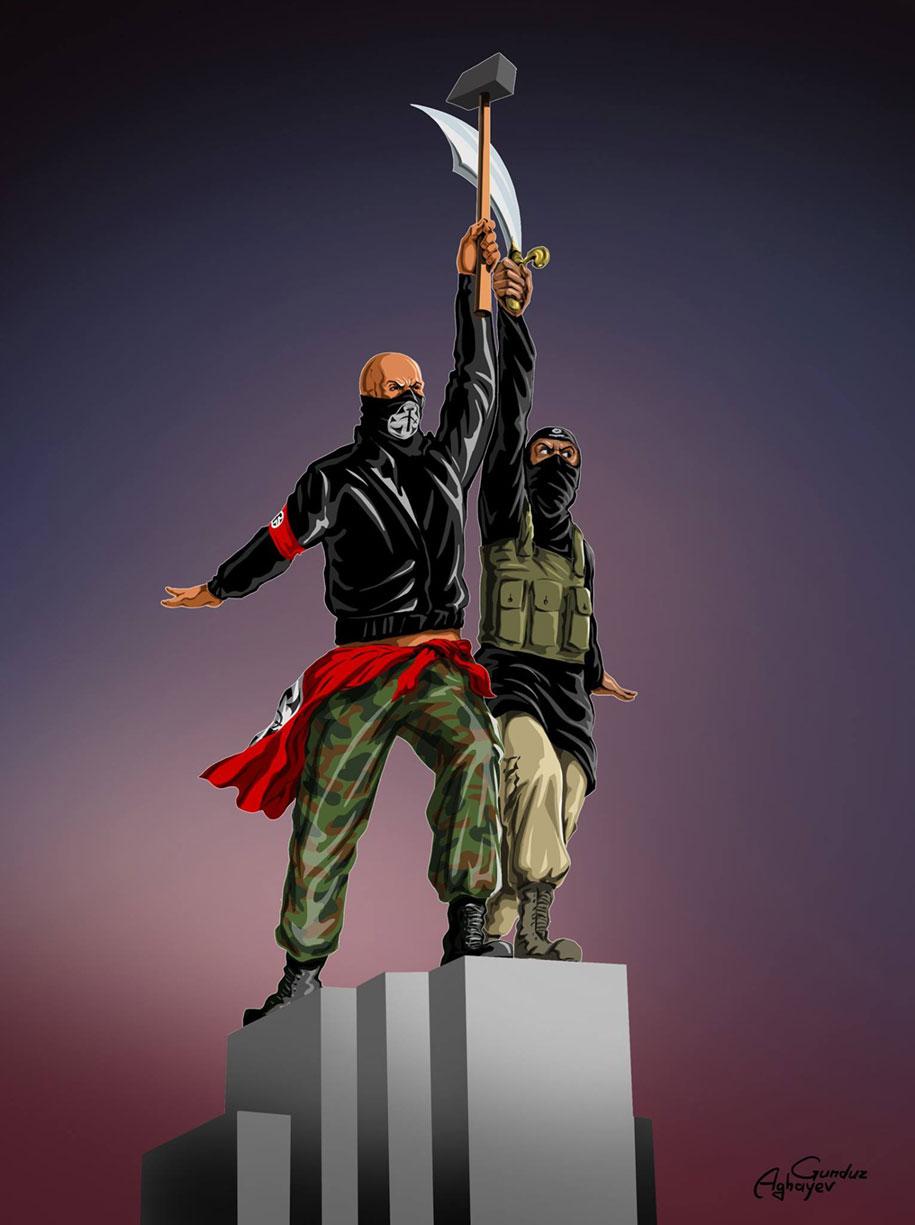 satirical-illustrations-war-peace-gunduz-aghayev-10