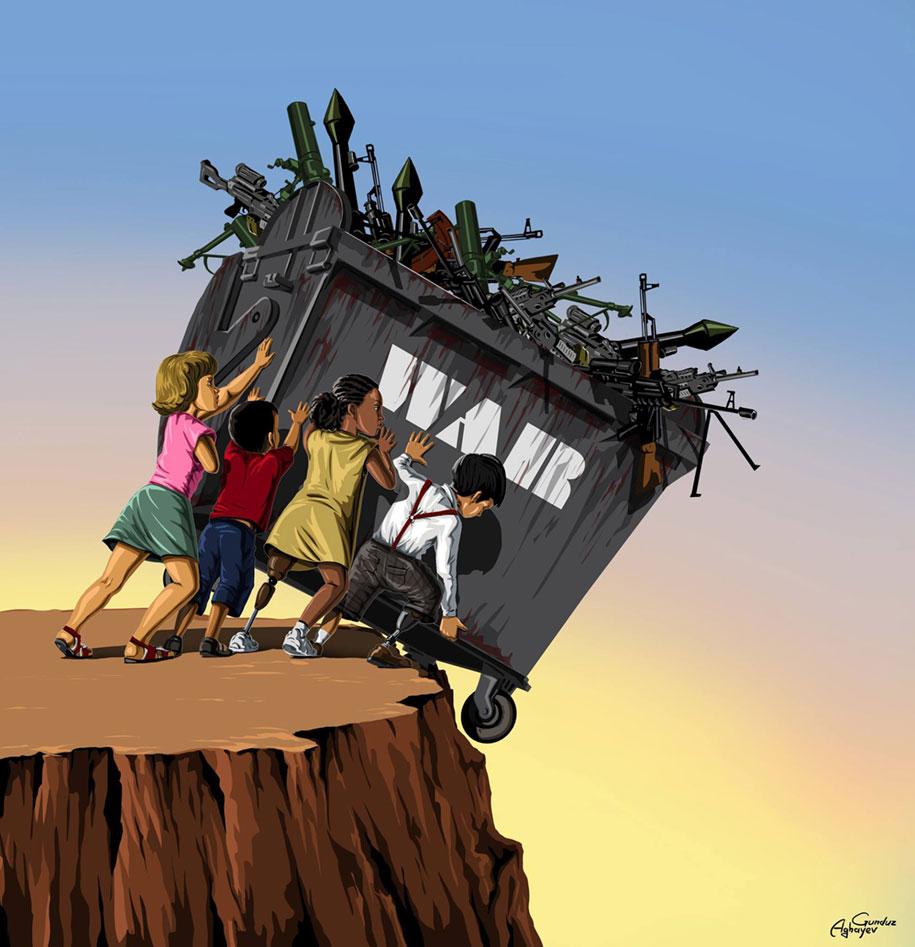 satirical-illustrations-war-peace-gunduz-aghayev-4