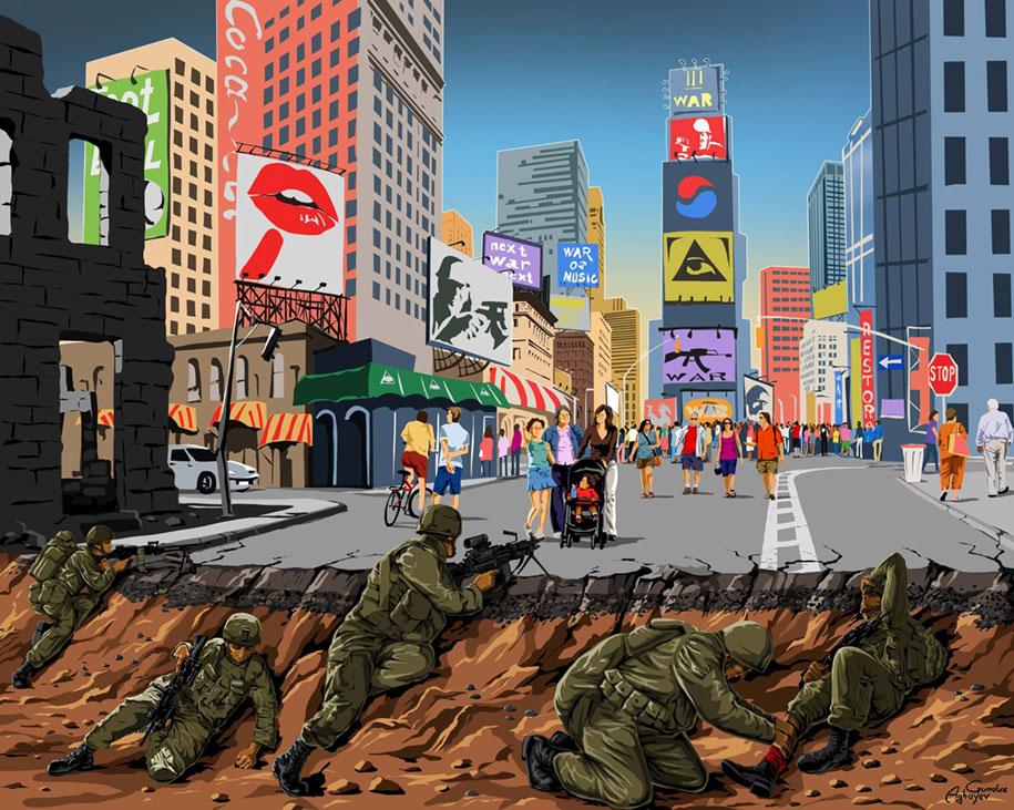 satirical-illustrations-war-peace-gunduz-aghayev-8