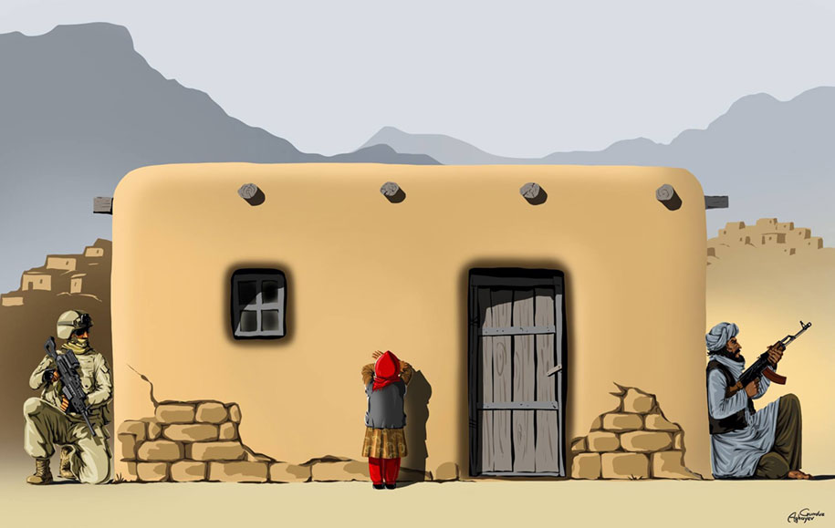 satirical-illustrations-war-peace-gunduz-aghayev-9