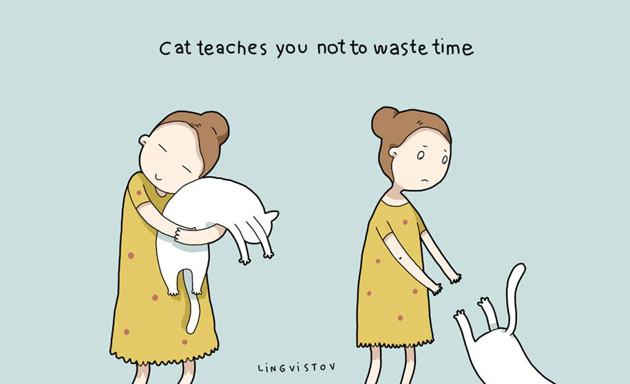 funny-illustrations-pets-benefits-of-having-a-cat-lingvistov-13