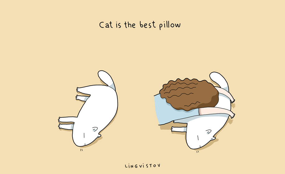 funny-illustrations-pets-benefits-of-having-a-cat-lingvistov-2