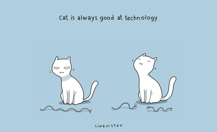 funny-illustrations-pets-benefits-of-having-a-cat-lingvistov-3