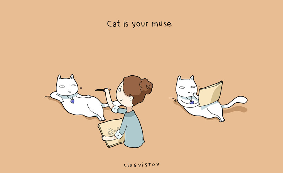 funny-illustrations-pets-benefits-of-having-a-cat-lingvistov-7