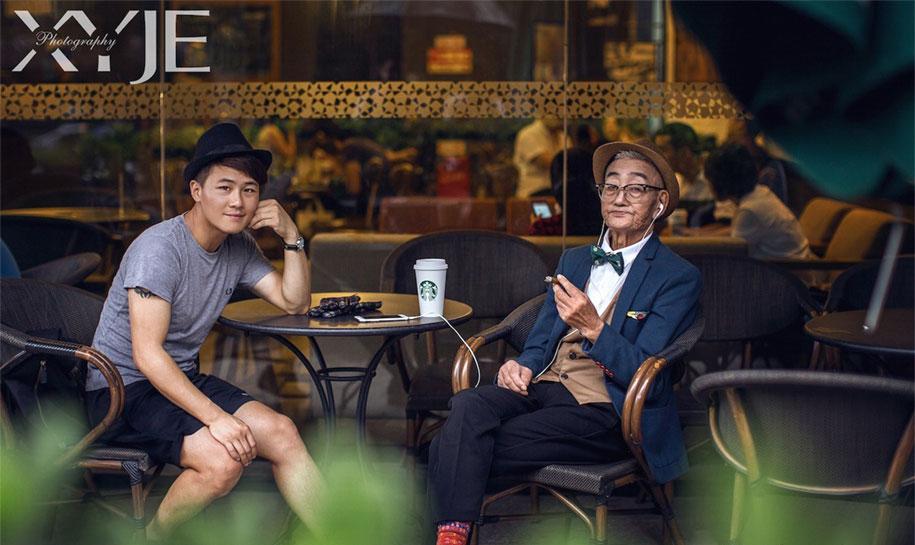 grandfather-farmer-fashion-transformation-grandson-xiaoyejiexi-photography-4