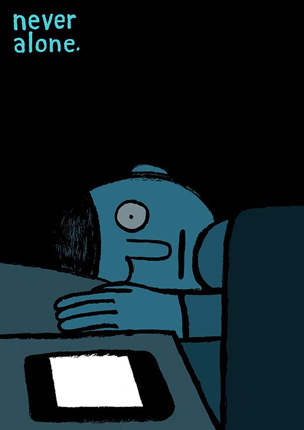 satirical-illustrations-technology-social-media-addiction-15