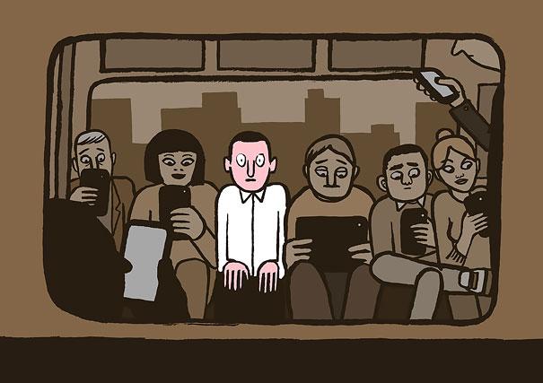 satirical-illustrations-technology-social-media-addiction-16