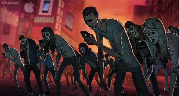 satirical-illustrations-technology-social-media-addiction-17
