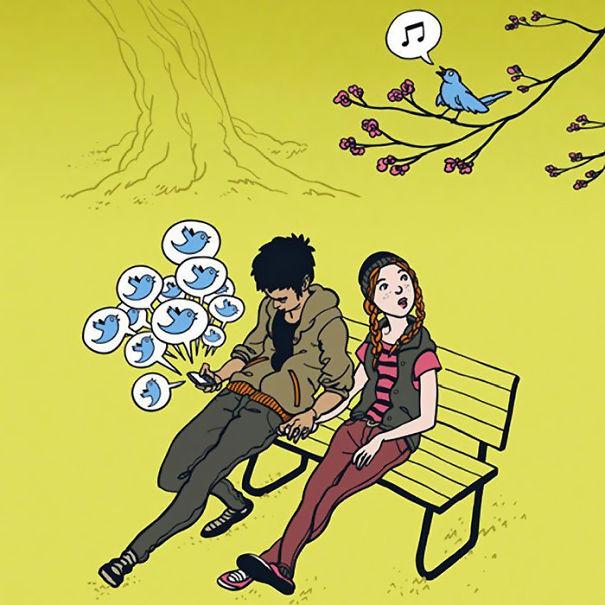 satirical-illustrations-technology-social-media-addiction-6