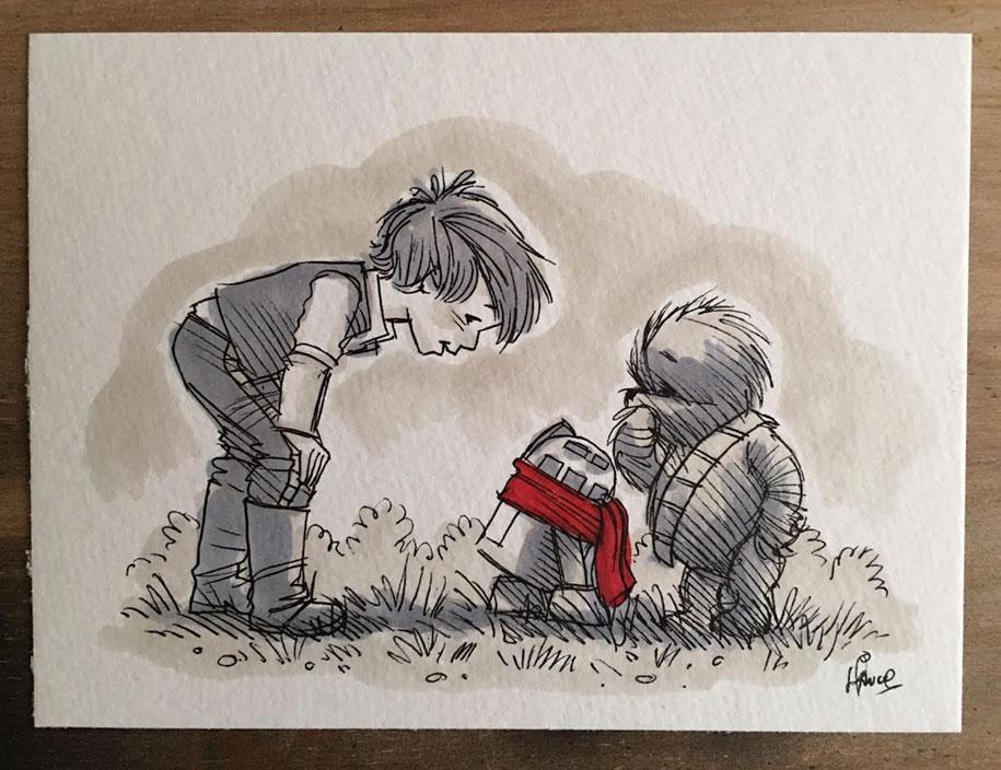 star-wars-winnie-the-pooh-wookie-the-chew-james-hance-5