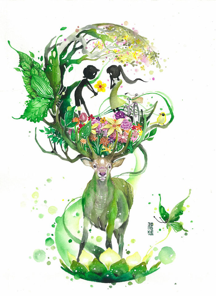 watercolor-animal-paintings-luqman-reza-mulyono-1