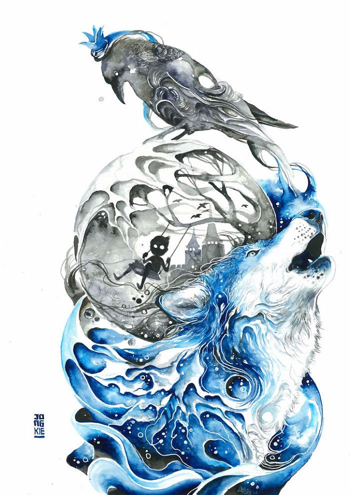 watercolor-animal-paintings-luqman-reza-mulyono-21
