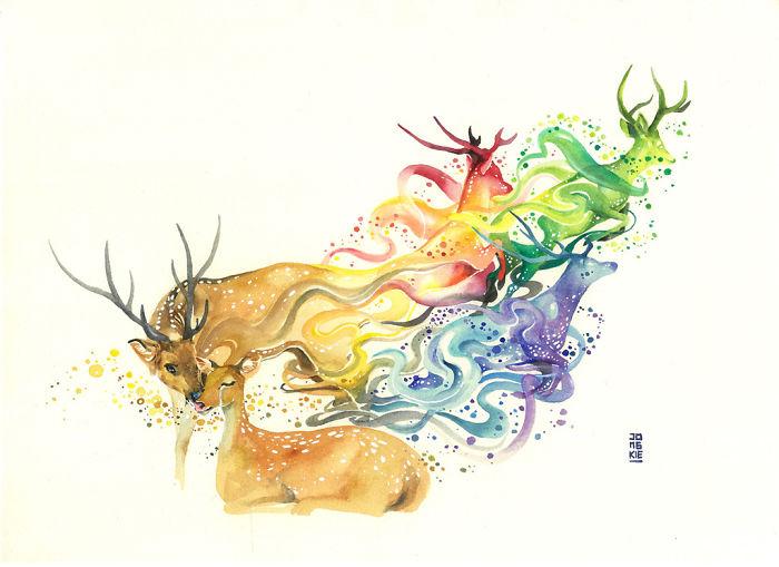 watercolor-animal-paintings-luqman-reza-mulyono-22