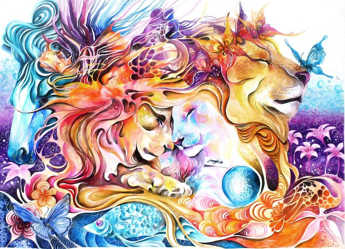 watercolor-animal-paintings-luqman-reza-mulyono-7