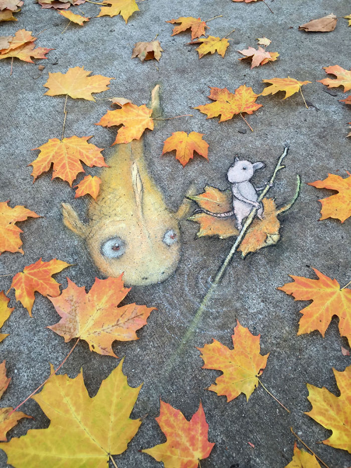 adorable-chalk-drawn-creatures-sidewalk-david-zinn-25
