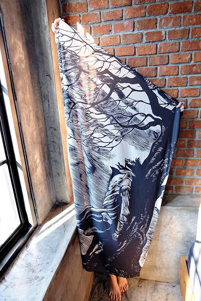 cover-text-art-book-lover-scarf-freshcomfy-pimolpan-thailand-4