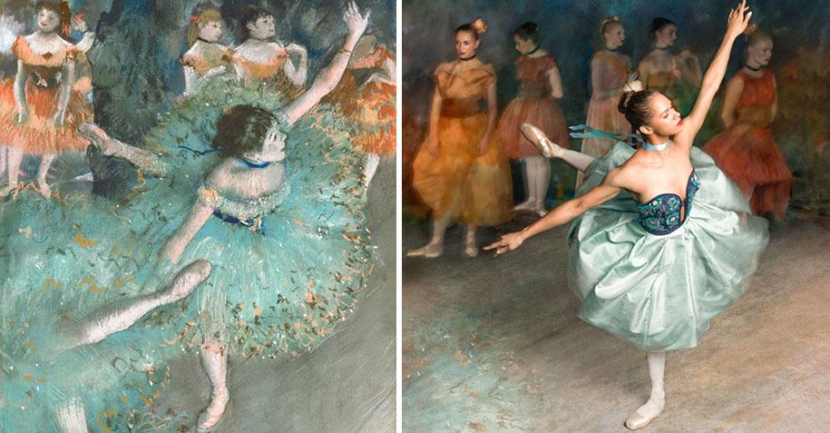 edgar-degas-ballet-dancer-painting-photoshoot-misty-copeland-harpers-bazaar-2