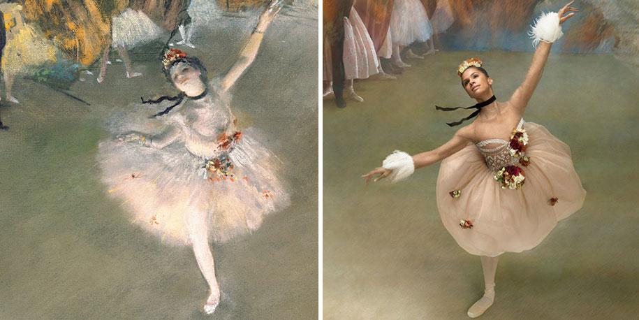 edgar-degas-ballet-dancer-painting-photoshoot-misty-copeland-harpers-bazaar-4