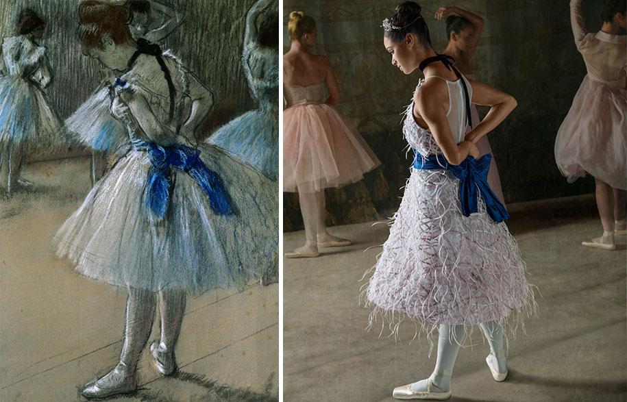 edgar-degas-ballet-dancer-painting-photoshoot-misty-copeland-harpers-bazaar-5