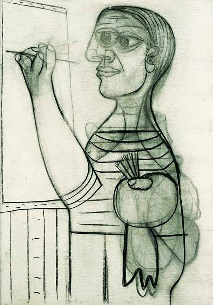 painting-self-portrait-style-evolution-pablo-picasso-10