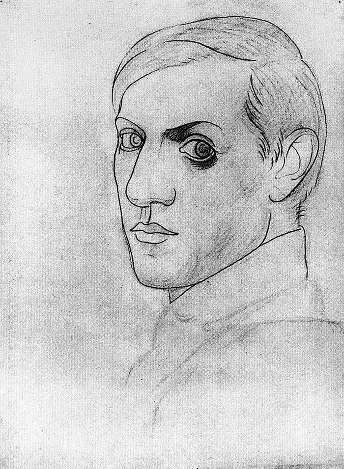 painting-self-portrait-style-evolution-pablo-picasso-12