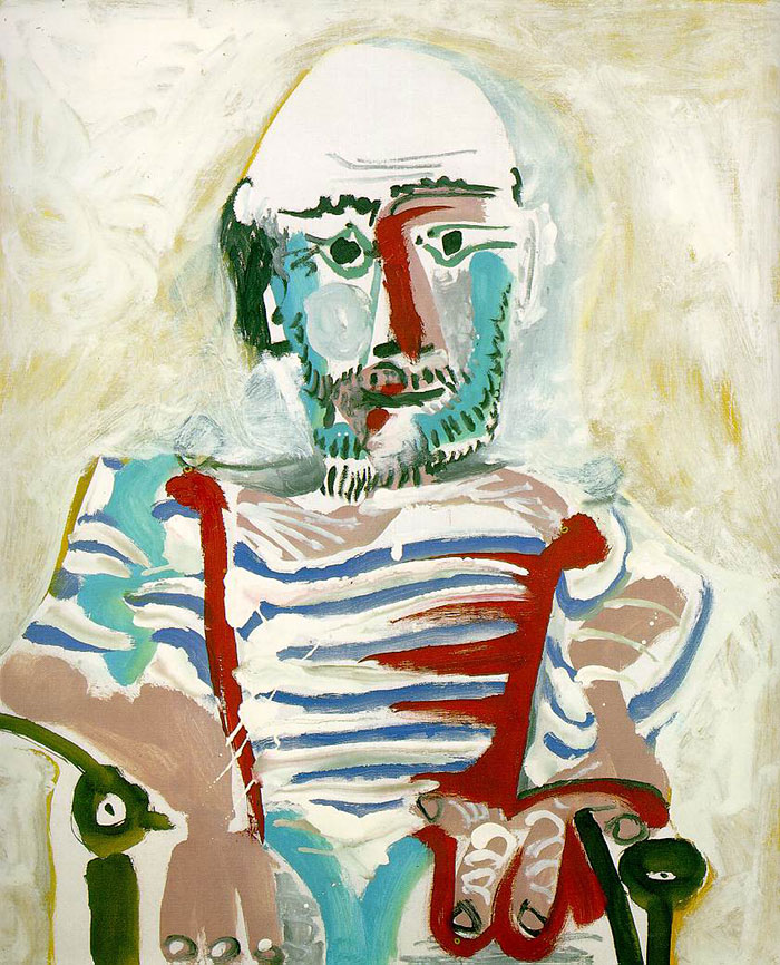 painting-self-portrait-style-evolution-pablo-picasso-2